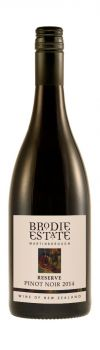 Brodie Estate Reserve Pinot Noir 2014