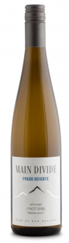 Main Divide POKIRI RESERVE Late Picked Pinot Gris 2014